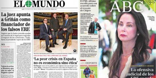 El Mundo presenta a su 'Gobierno de salvación' de España: Del Bosque, Hernández y Rivera