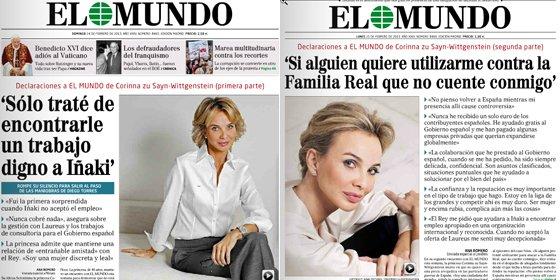 Las mentiras de Corinna sobre Urdangarín