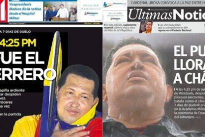 """""""Con Chávez ha habido una agresión permanente contra los medios de comunicación y los periodistas"""""""