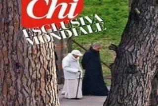 Primeras imágenes del Papa emérito