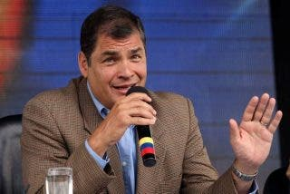 "Correa: ""Podré conversar con un Papa que sepa dónde está Ecuador"""