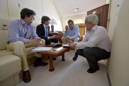 Jamón a 250 euros el kilo para el Rey y Rajoy en el cátering de los aviones VIP del Ejército