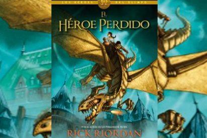 Rick Riordan sorprende con el primer libro de la serie 'Los héroes del Olimpo', el mayor fenómeno juvenil desde Harry Potter