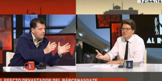 """Alfonso Rojo a Fernando Berlín: """"¿Financiación ilegal del PP? ¡Pero si Sanchís se había ido del partido antes de que tú hicieras la primera comunión!"""""""