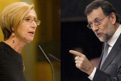 "Rosa Díez a Rajoy: ""Si no sabe decir Díez, ¿cómo va a decir Bárcenas?"""