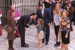 Gritos contra la Familia Real en la misa de Resurrección en la Catedral de Palma