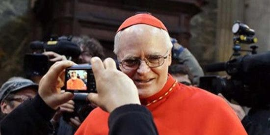 Scherer fue el gran rival de Bergoglio en el Cónclave