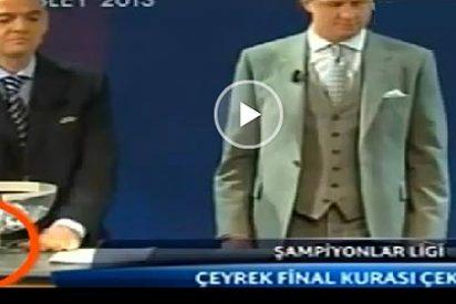 ¿Manipuló la UEFA con un imán el sorteo de la Champions League?