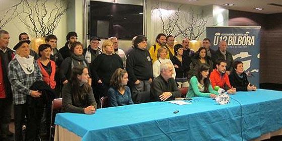 'Stop Desahucios' se sumó a la marcha en apoyo a los presos de ETA