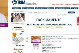 Tras la denuncia de censura, las librerías Troa reculan y sacan el libro sobre el nuevo Papa a la venta en su web