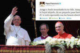 El tuit pascual del Papa Francisco