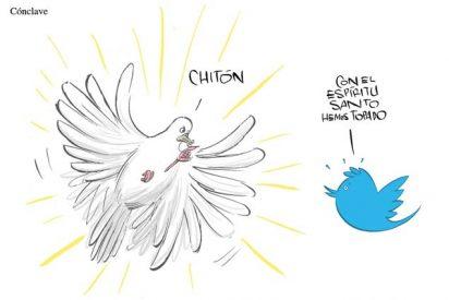 Humor de paloma a paloma: Twitter y el Espíritu Santo
