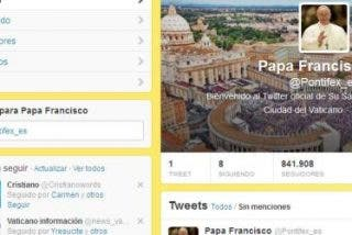El Papa Francisco reabre la cuenta pontifex en Twitter