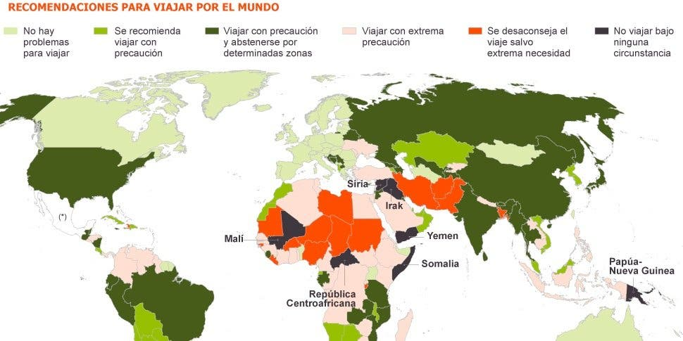 Atención trotamundos intrépidos, si os secuestran el Estado español podrá exigiros el dinero de vuestro rescate