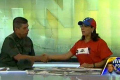 """Esperpento chavista emulando a Corea del Norte: """"General, deme la mano y lloremos por Chávez"""""""