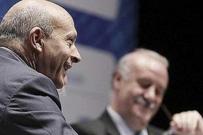 El ministro Wert da un 'tirón de orejas' a Del Bosque por olvidarse de los madridistas