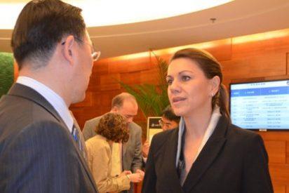 Cospedal invita al presidente de COFCO a contactar con empresas de C-LM