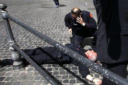 """El tirador de Roma confiesa sus intenciones: """"Quería matar a los políticos"""""""