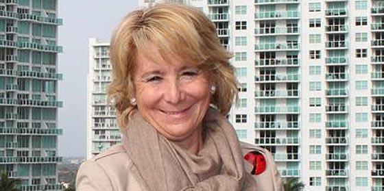Vuelve la lideresa Esperanza Aguirre decidida a a dar leña a los 'arriolistas' del PP