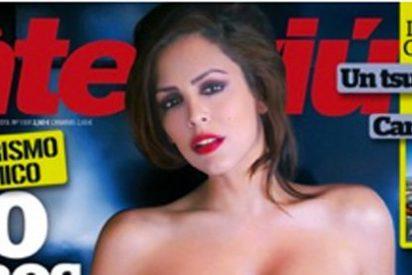 ¡Oportunismo! Amor (GH9) hace su primer desnudo integral en Interviú tras el cambio de sexo