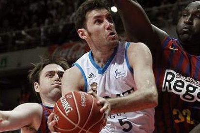 El Real Madrid acogota al Barcelona (78-65) y se asegura la primera plaza de la Liga ACB