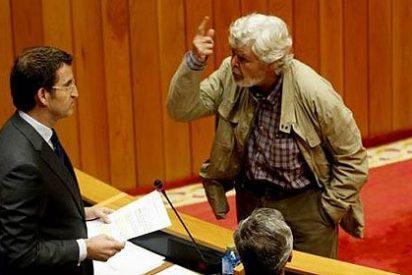 Beiras amenaza a Núñez Feijóo y monta la bronca en el Parlamento gallego