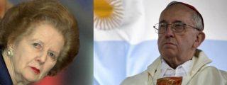 "Francisco destaca los ""valores cristianos"" de Margaret Thatcher"