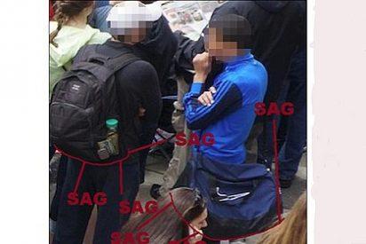 ¿Son estos dos los terroristas del Maratón de Boston que busca el FBI?