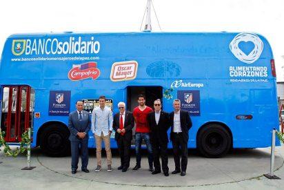 Mensajeros de la Paz recogerá alimentos en el Vicente Calderón