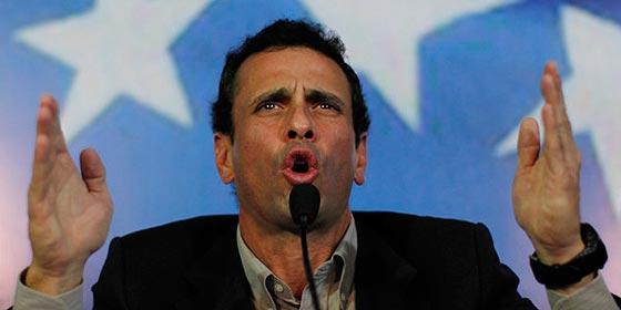 Los 'batazos' del flaco Henrique Capriles