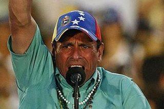 Chavistas encapuchados hieren a 14 opositores tras un acto de Capriles