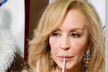 Carmen Lomana derrocha bilis en Twitter contra 'Sálvame'