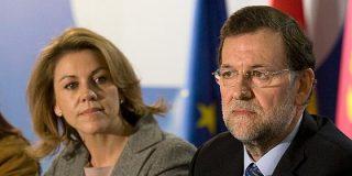 Rajoy y Cospedal buscan la espada afilada que corte el nudo Bárcenas