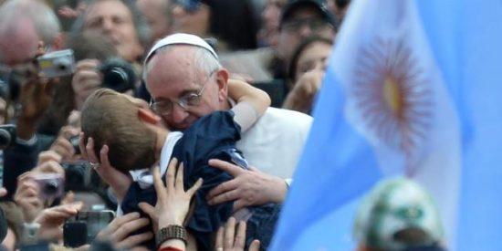 Un Papa como para invitarlo a comer