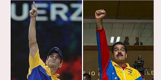 Nicolás Maduro y Henrique Capriles: busque usted las 10 diferencias