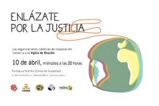 """""""Enlázate por la Justicia"""", propuesta de las ONG católicas por la cooperación internacional"""