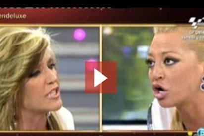 [Video] Espectáculo dantesco en Telecinco: Belén Esteban abandona 'Sálvame' tras una gran bronca con Lydia Lozano