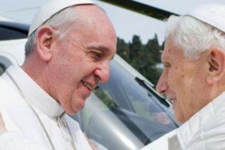 El primer cumpleaños del Papa emérito