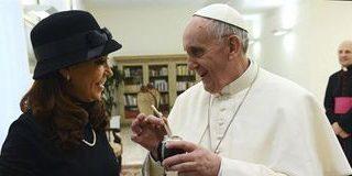 """El Papa envió una carta a Cristina Kirchner pidiendo """"entendimiento"""""""