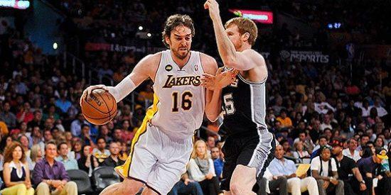 Paul Gasol se marcha ovacionado en la derrota definitiva de los Lakers