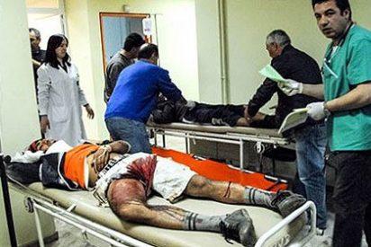 Tres capataces tirotean en Grecia a una veintena de trabajadores extranjeros