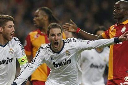 Triple golpe del Real Madrid al Galatasaray y paso de gigante a la semifinal de Champions