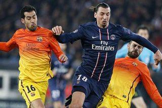 Ibrahimovic le pone morbo a la vuelta Barça-PSG en el Camp Nou