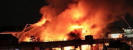 Mueren 38 personas en el incendio de un psiquiátrico en Moscú