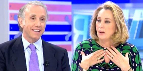 Inda, al puro estilo Peñafiel contra Ángeles Alcázar (La Vanguardia): ¡Cortesana, cuando tú des tantas noticias como nosotros te haremos catedrática de periodismo!