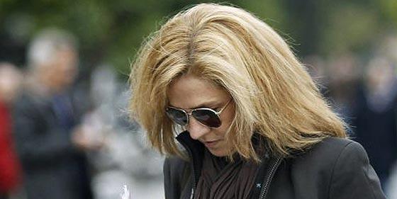 La Infanta Cristina se persona como imputada en el caso Nóos