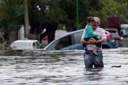 Francisco envía 50.000 dólares para los afectados por las inundaciones en Argentina