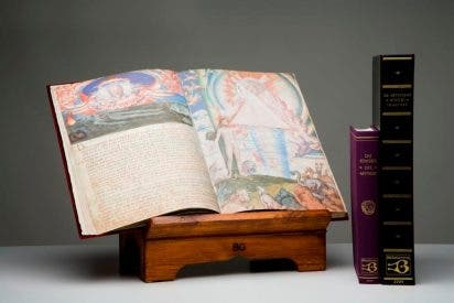 Una joya de la Biblioteca Nacional para el Papa