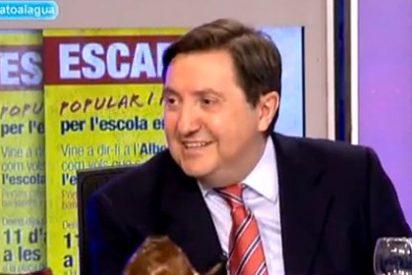 """Jiménez Losantos: """"El PP en Cataluña no existe, es una estafeta de Rajoy y Fernández Díaz"""""""