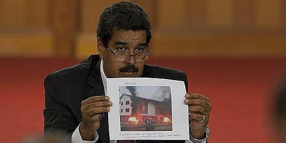 """El chavista Maduro prohibirá la marcha de la oposición """"con mano dura"""""""